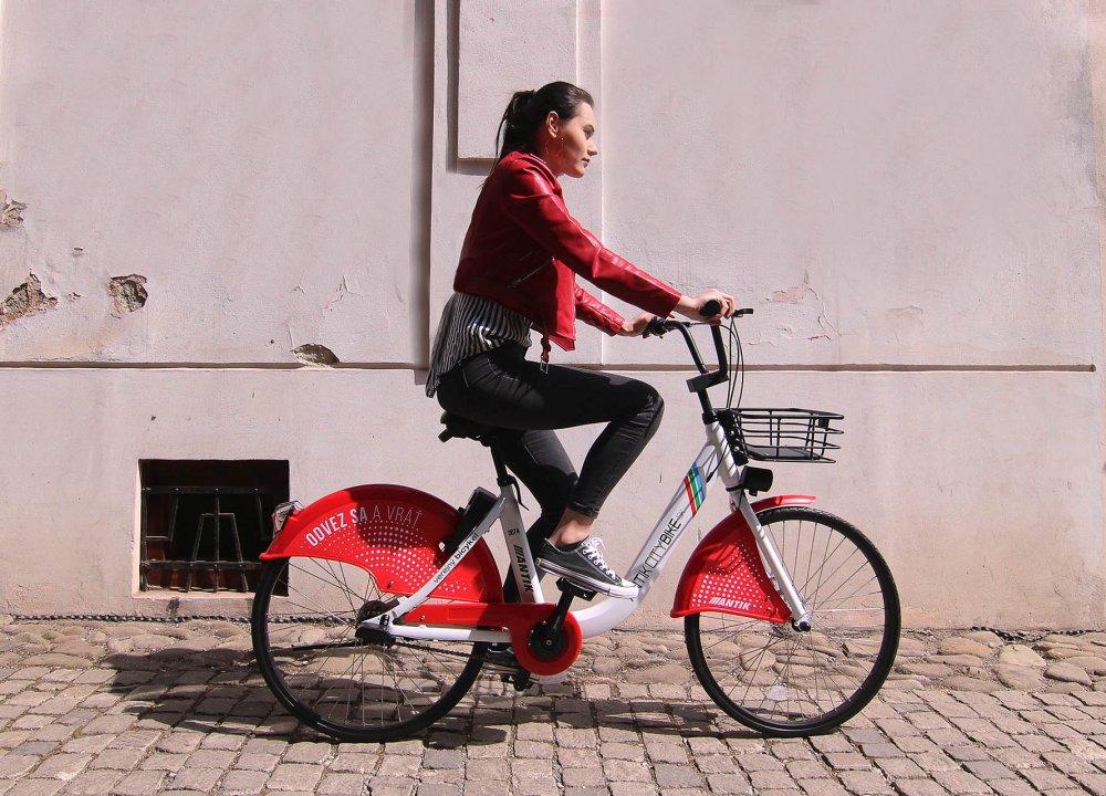 Verejný bicykel - Mesačné bicyklovanie zadarmo